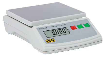 BASCULA PORCIONADORA CAP. 1 kg x 0.1 g